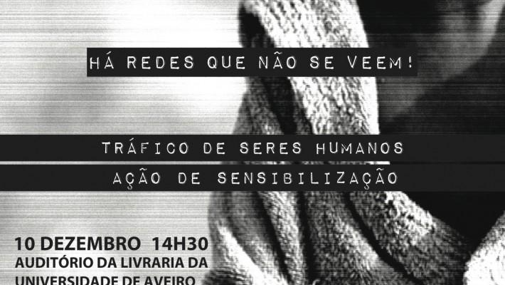 Ação de Sensibilização Tráfico de Seres Humanos