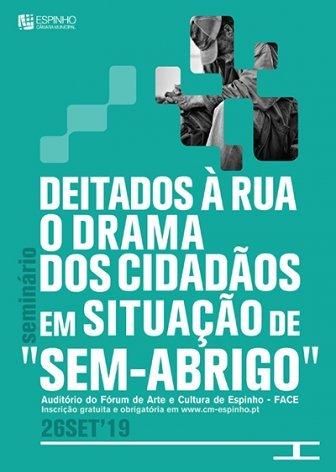 """SEMINÁRIO """"DEITADOS À RUA"""""""